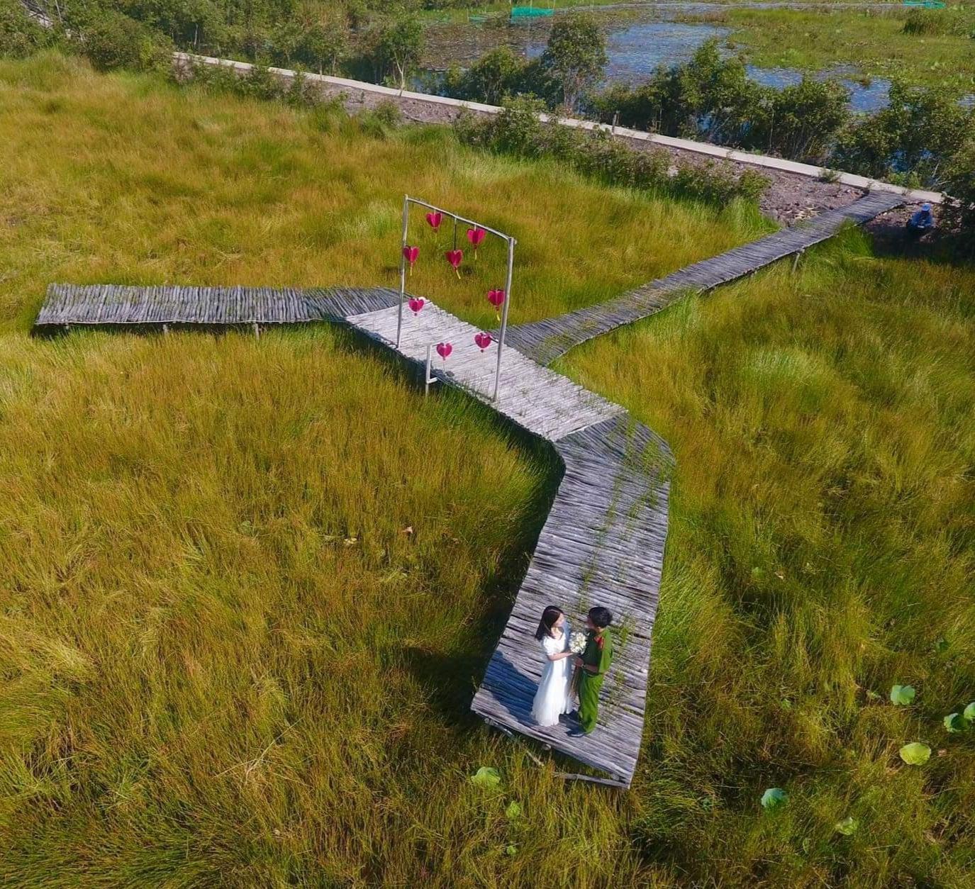 Điểm check - in ở làng nổi Tân Lập