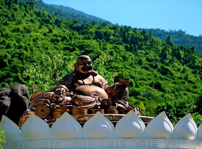 Địa điểm vui chơi tại khu du lịch núi Thần Tài