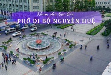Phố đi bộ Nguyễn Huệ TPHCM