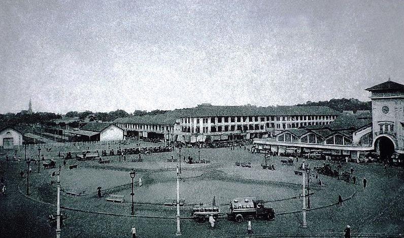 Kiến trúc chợ Bến Thành