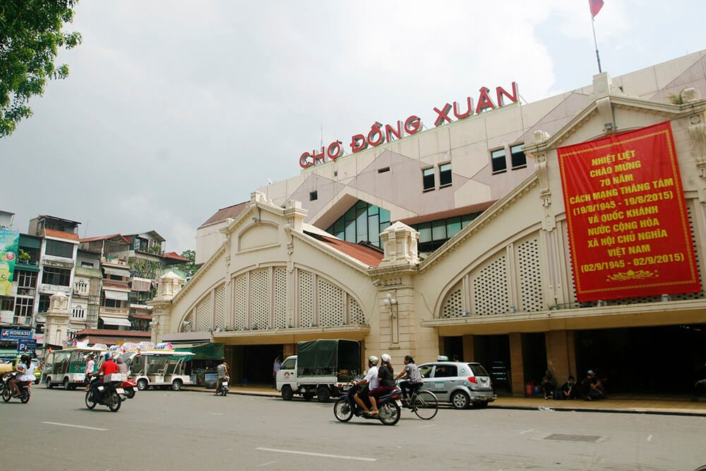 Chợ Đồng Xuân, Hà Nội