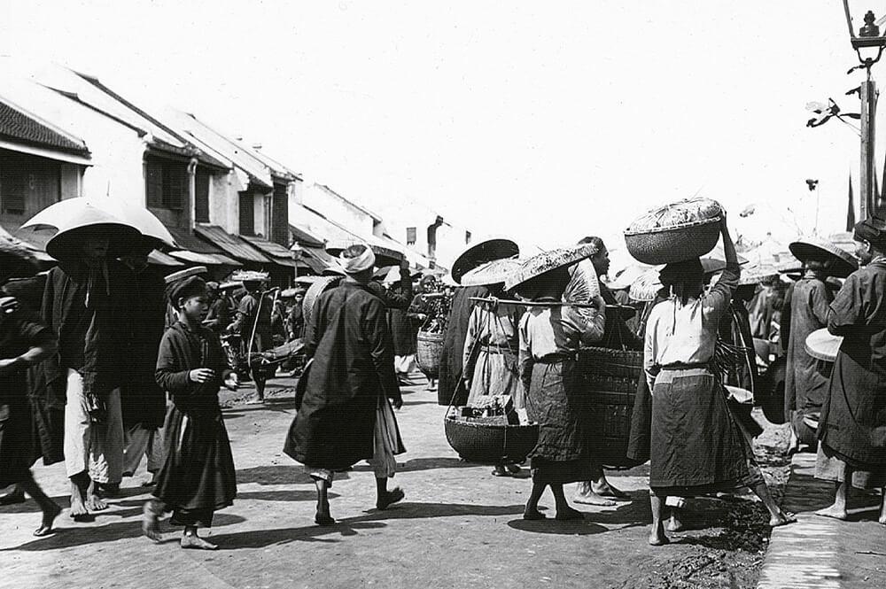 Lịch sử hình thành chợ Đồng Xuân, Hà Nội