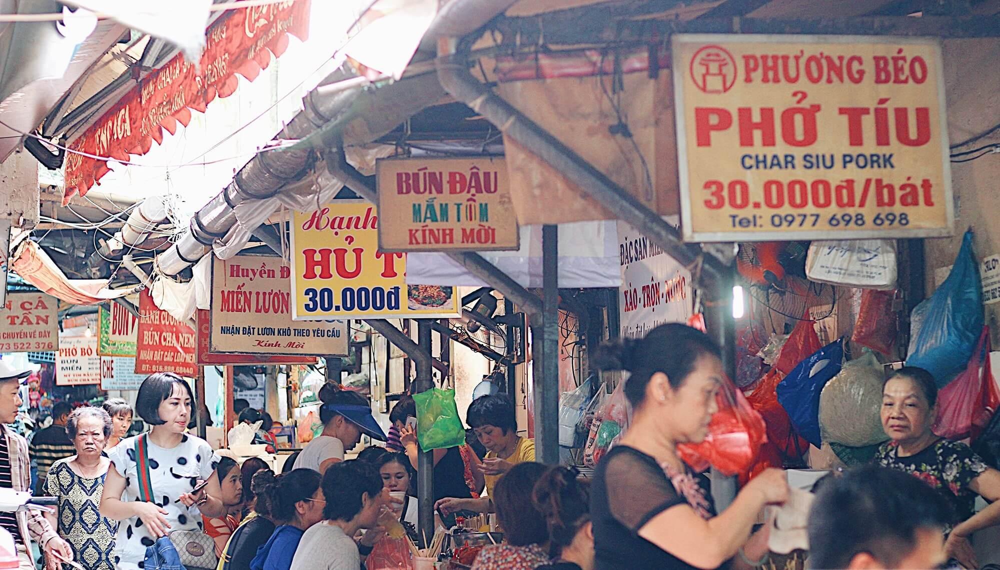 Trải nghiệm ẩm thực chợ Đồng Xuân/Đến chợ Đồng Xuân ăn món gì?