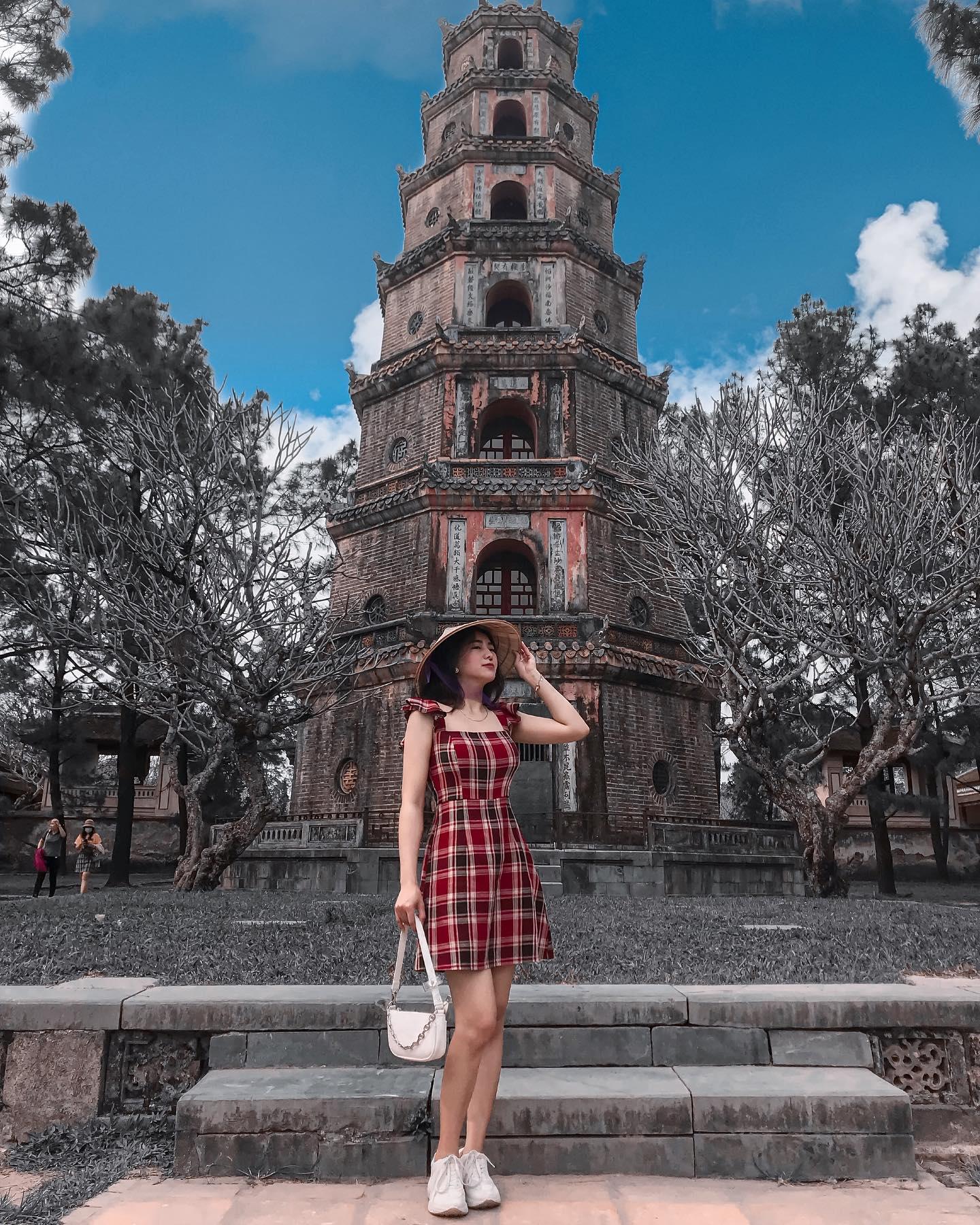Địa điểm tham quan ở Chùa Thiên Mụ