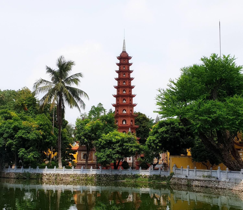 Kiến trúc của chùa Trấn Quốc