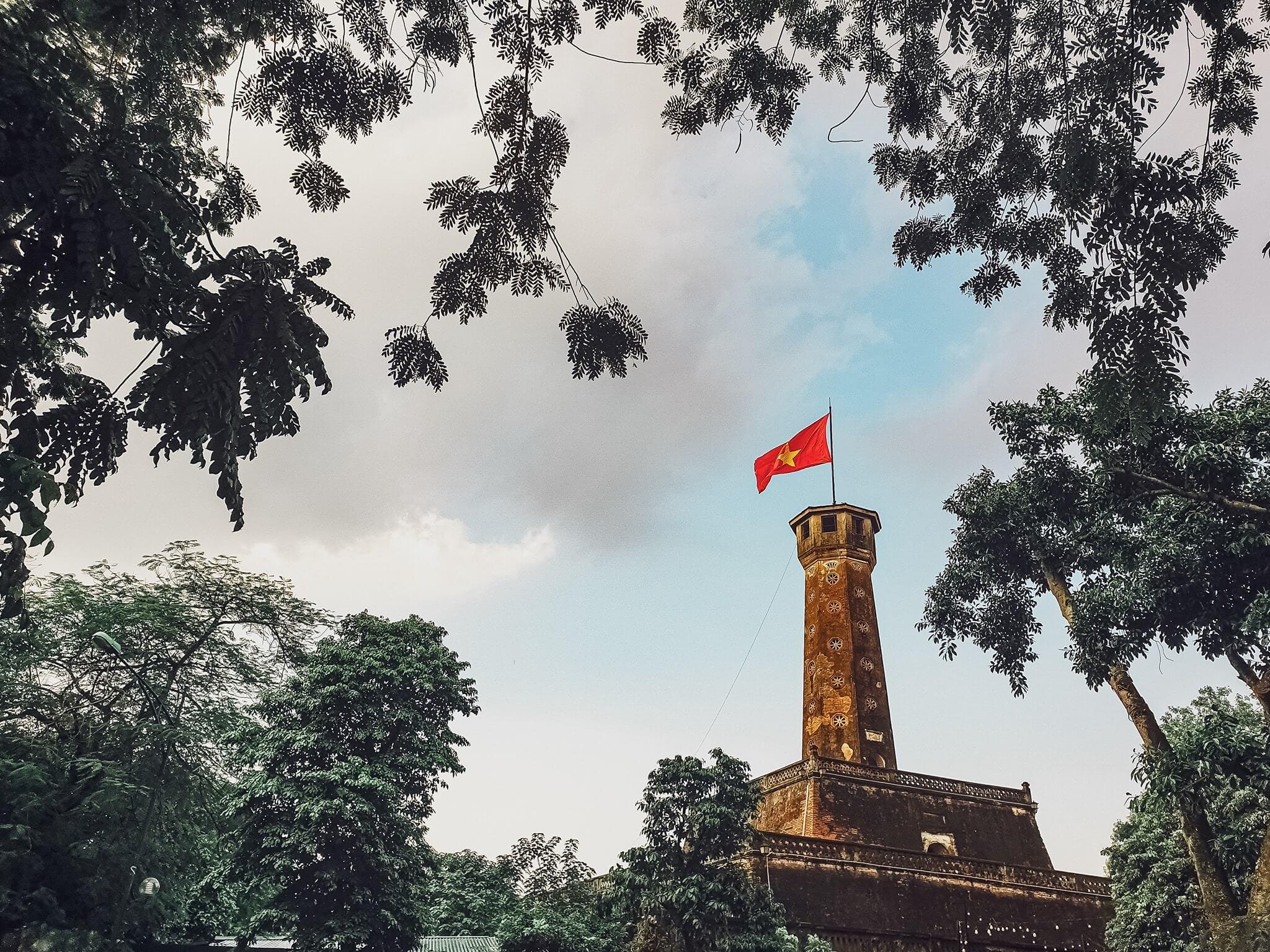 Kiến trúc đặc biệt của Cột cờ Hà Nội