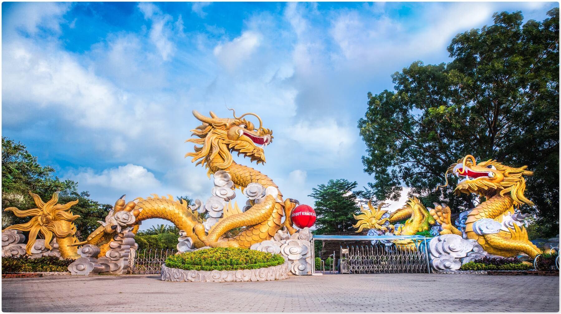 Những điểm tham quan chính tại Khu du lịch Bửu Long