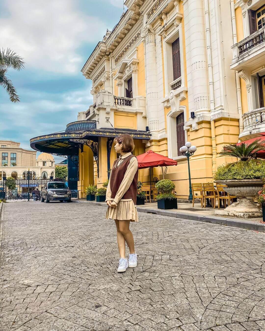 Kiến trúc châu Âu nhà hát Lớn Hà Nội