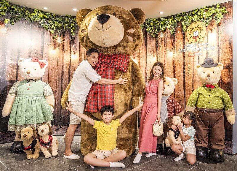 Bảo tàng gấu Teddy đầu tiên tại Việt Nam