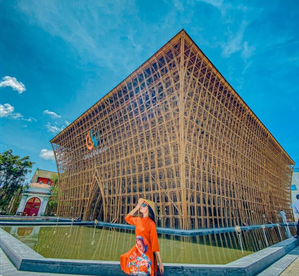 Công trình tre lớn nhất Việt Nam
