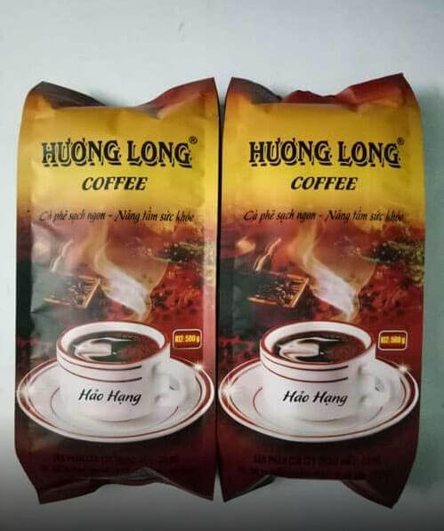 Cà phê rang xay Hương Long