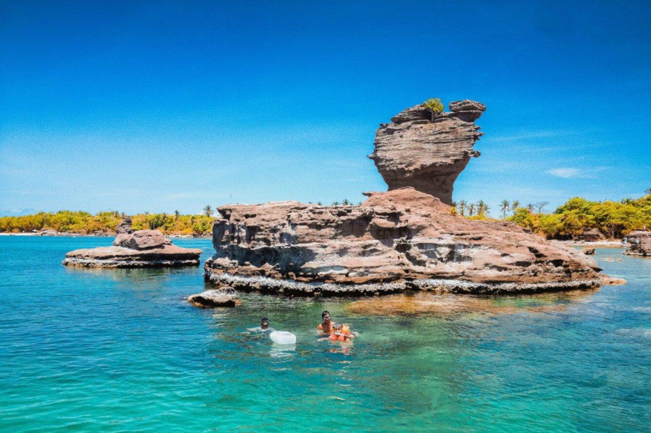 Các đảo nhỏ tại Phú Quốc Hòn Gầm Ghì
