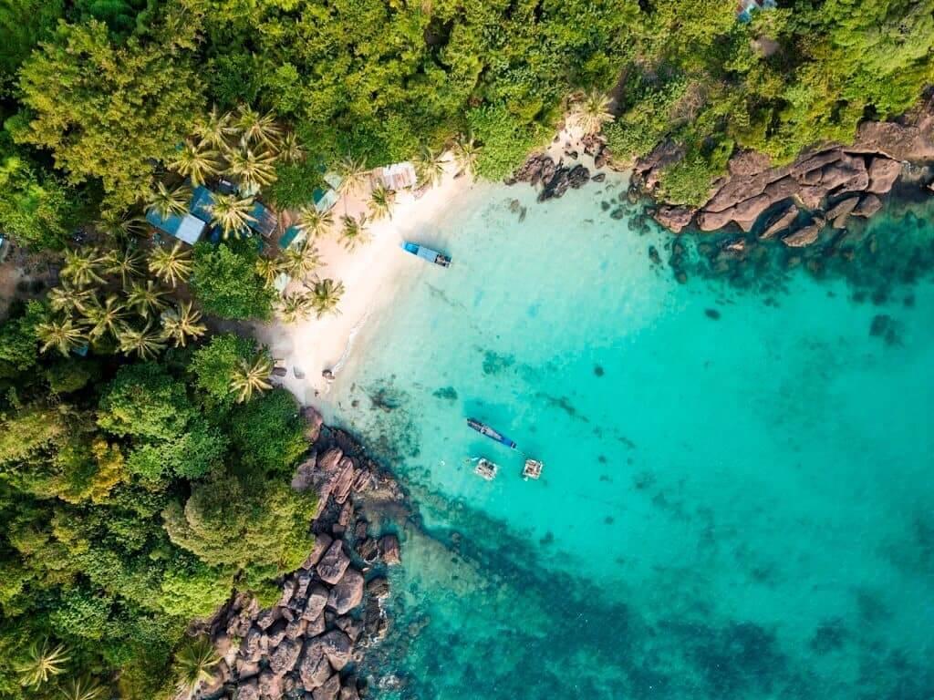 Tour 4 đảo Phú Quốc  - Hòn Móng Tay