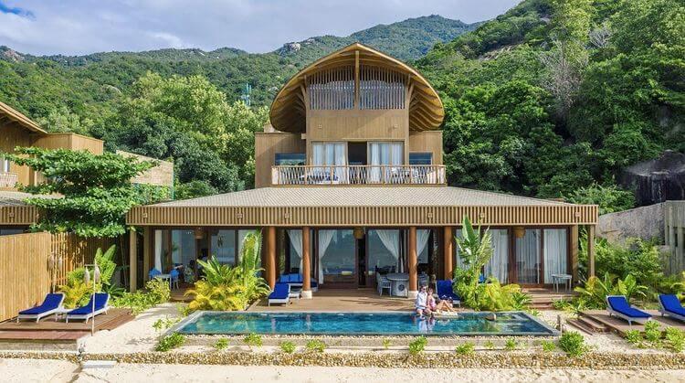 Khu nghỉ dưỡng sang trọng tại Ninh Vân bay