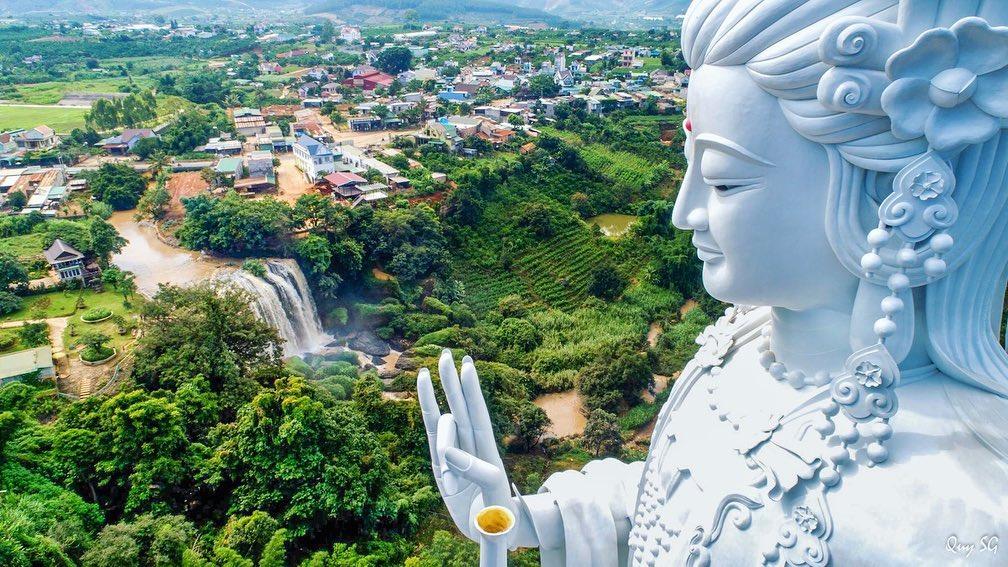Tượng Quan Âm lộ thiên cao nhất Việt Nam
