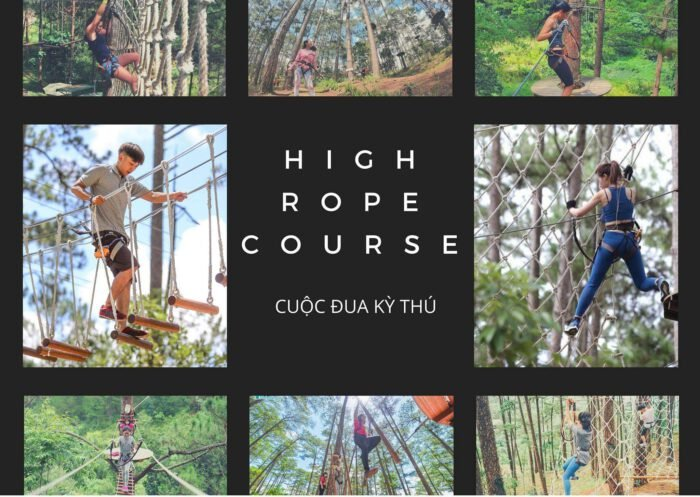 Datanla High Rope Course – Đu dây mạo hiểm