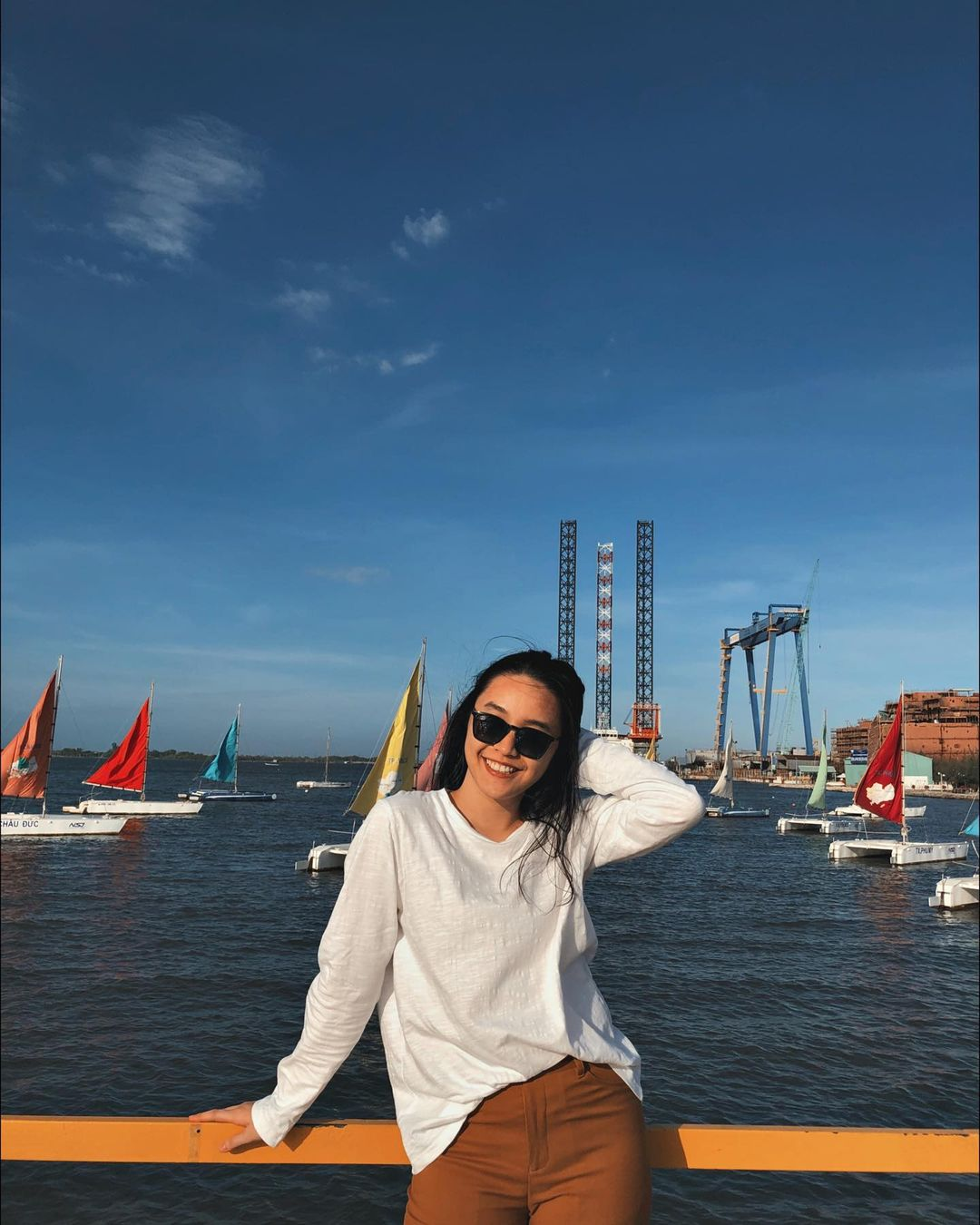 Câu cá giải trí tại bến thuyền Marina