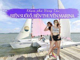 Biển Suối Ồ, bến thuyền Marina và hẻm đường Trần Phú, Vũng Tàu
