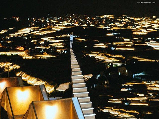 Nấc thang lên thiên đường có gần Cổng trời Đà Lạt?