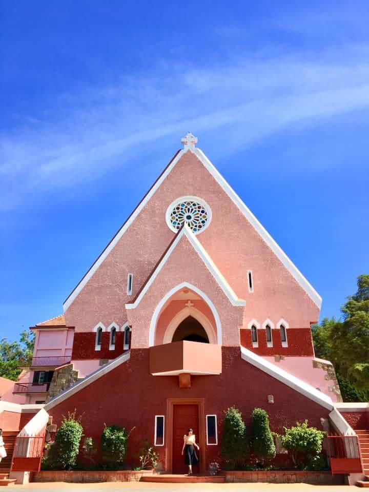 Kiến trúc nhà thờ Domain de Marie Đà Lạt