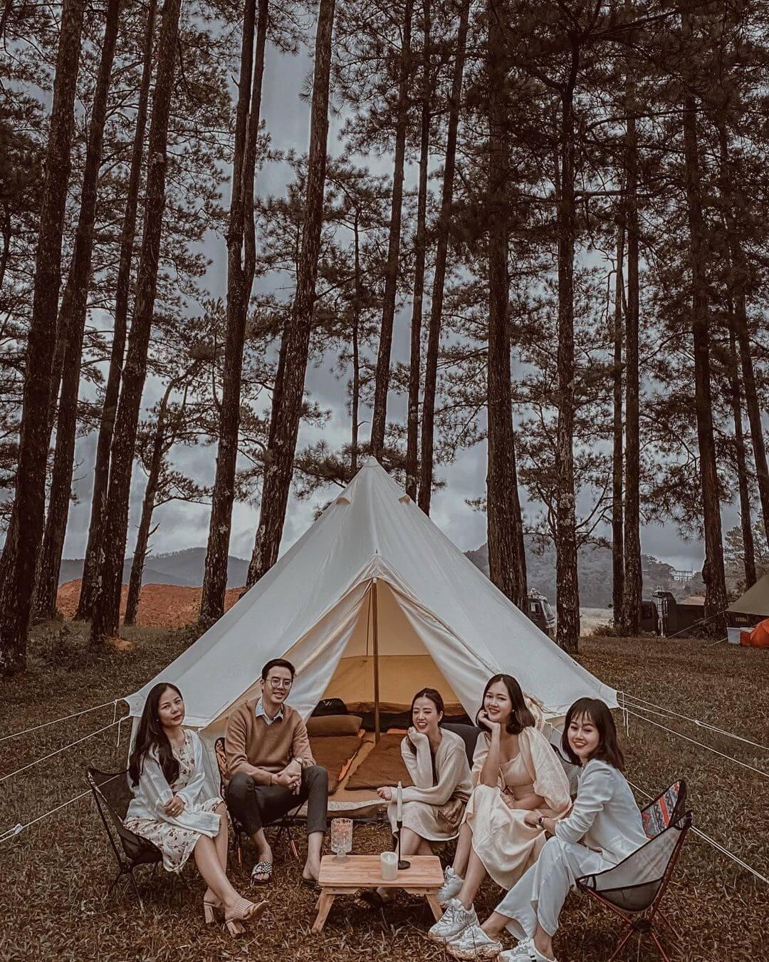 Cắm trại Khu du lịch thung lũng vàng Đà Lạt