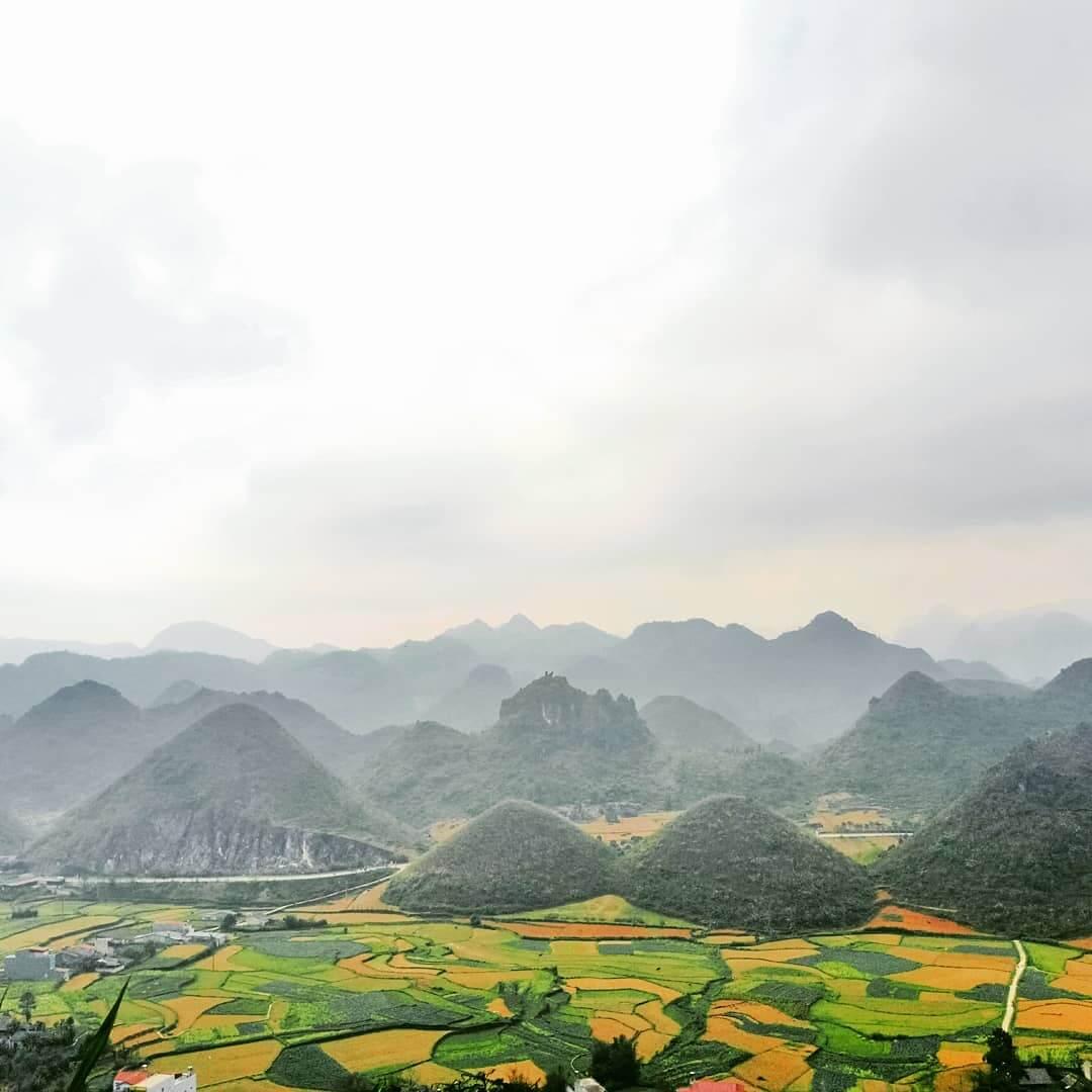 Thuyết minh về núi đôi Quản Bạ, Hà Giang