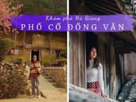 Review phố cổ Đồng Văn Hà Giang